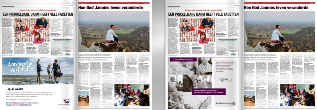 Artikel Lokale krant | Article local Newspaper